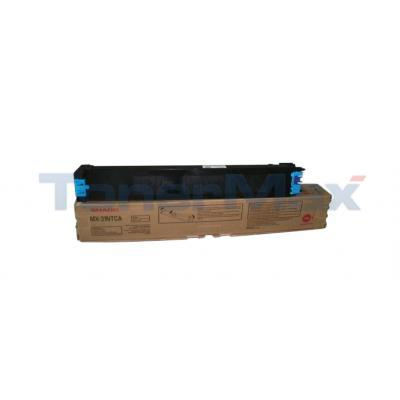 SHARP MX-3100N TONER CARTRIDGE CYAN